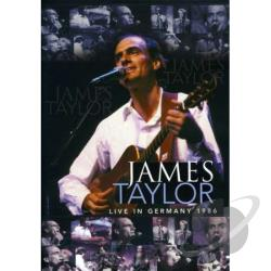 James Taylor: Live in Germany 1986 DVD Cover Art