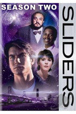 Sliders: The Second Season DVD Cover Art