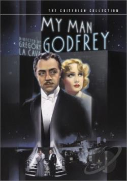 My Man Godfrey DVD Cover Art