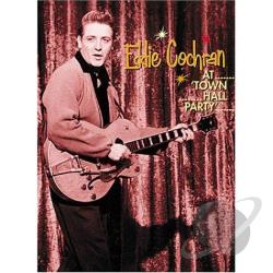 Eddie Cochran at Town Hall Party DVD Cover Art