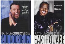 Paul Rodriguez / Earthquake DVD Cover Art