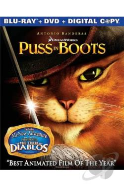 Puss in Boots BRAY Cover Art
