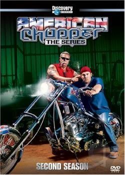 American Chopper: The Series - Season 2 DVD Cover Art