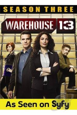 Warehouse 13: Season Three DVD Cover Art