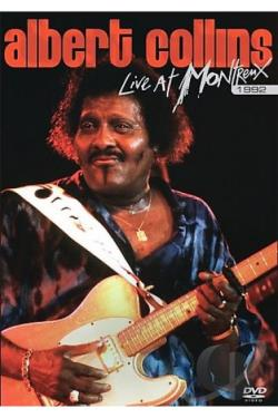 Albert Collins - Live At Montreux 1992 DVD Cover Art
