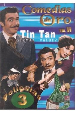 Comedias De Oro Tin Tan 6 DVD Cover Art