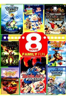 8 - Movie Kid's Collection, Vol. 5 DVD Cover Art
