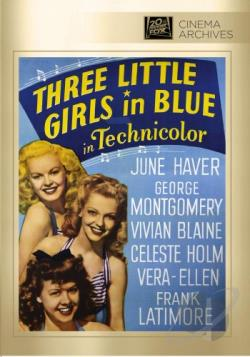 Three Little Girls in Blue DVD Cover Art