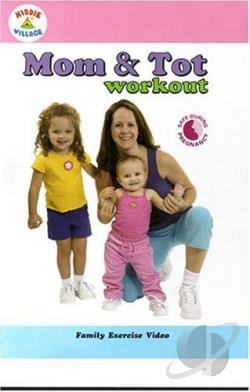 Mom & Tot Workout DVD Cover Art