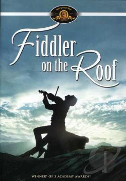Fiddler on the Roof DVD Cover Art