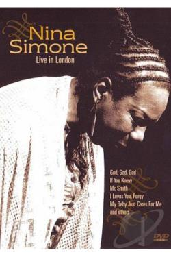 Nina Simone: Live in London DVD Cover Art