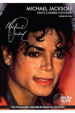 Michael Jackson: Fan's Camera Footage DVD Cover Art