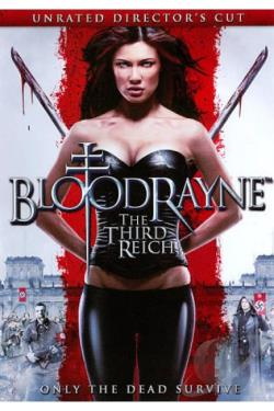 Bloodrayne: The Third Reich DVD Cover Art