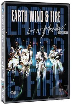 Earth, Wind & Fire - Live at Montreux 1997 DVD Cover Art