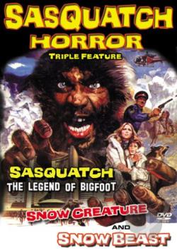 Sasquatch Horror Collection DVD Cover Art