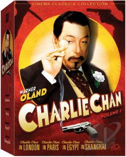Charlie Chan Collection - Vol. 1 DVD Cover Art