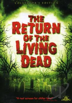 Return of the Living Dead DVD Cover Art