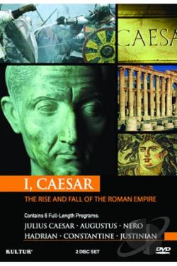 I, Caesar: The Rise And Fall Of The Roman Empire DVD Cover Art
