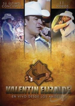 Valentin Elizalde - En Vivo Desde Los Angeles DVD Cover Art