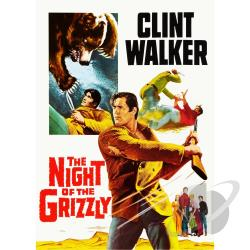 Night of the Grizzly DVD Cover Art