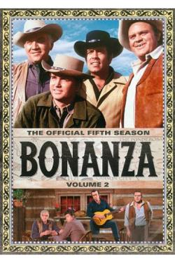Bonanza: The Official Fifth Season, Vol. 2 DVD Cover Art