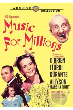 Music for Millions DVD Cover Art