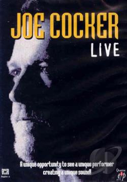 Joe Cocker - Live DVD Cover Art