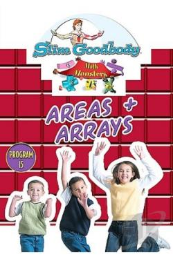 Slim Goodbody's Math Monsters, Vol. 15: Areas & Arrays Program DVD Cover Art