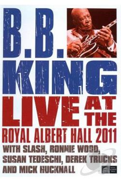 B.B. King: Live at the Royal Albert Hall 2011 DVD Cover Art