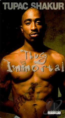 Thug Immortal: The Tupac Shakur Story VHS Cover Art