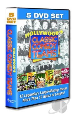 Hollywood's Classic Comedy Teams DVD Cover Art