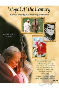 Pope of the Century DVD Cover Art
