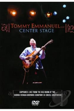 Tommy Emmanuel - Center Stage DVD Cover Art