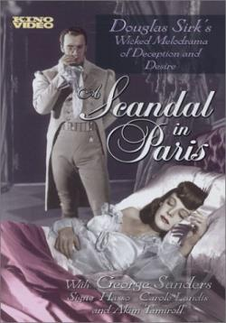 Scandal in Paris DVD Cover Art