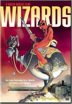 Wizards DVD Cover Art