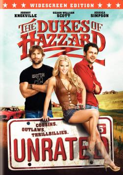 Dukes of Hazzard DVD Cover Art