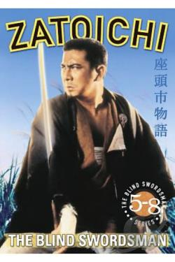 Zatoichi The Blind Swordsman: Vols. 5-8 DVD Cover Art