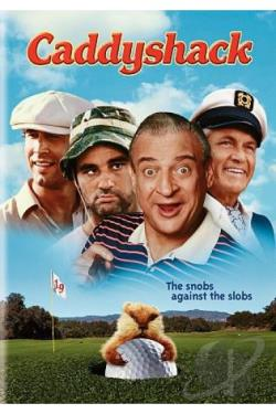 Caddyshack DVD Cover Art