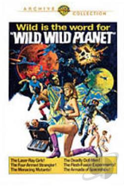 Wild, Wild Planet DVD Cover Art