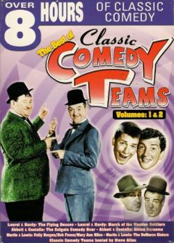 Best Of Classic Comedy Teams - Vols. 1 & 2 DVD Cover Art