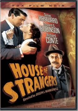 House of Strangers DVD Cover Art
