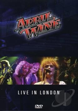 April Wine - I Like to Rock: Live In London 1981 DVD Cover Art