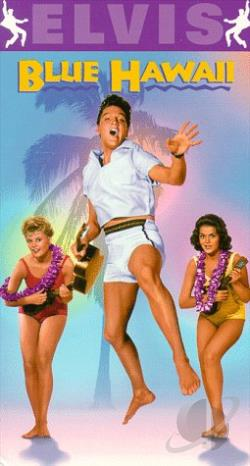 Blue Hawaii VHS Cover Art