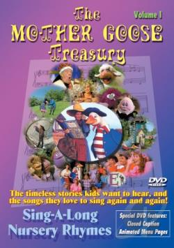 Mother Goose Treasury Vol. 1 DVD Cover Art
