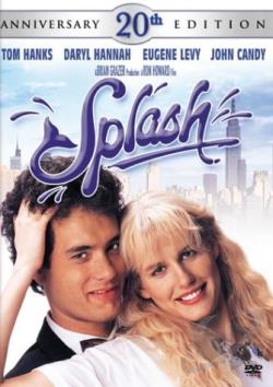 Splash DVD Cover Art