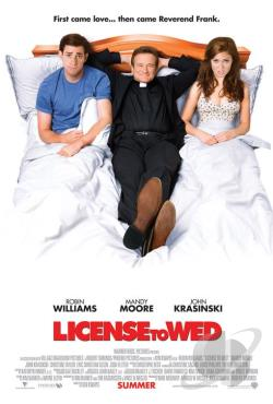License To Wed DVD Cover Art