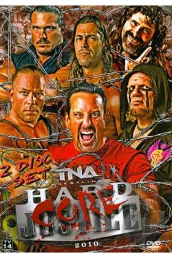 TNA Wrestling: Hardcore Justice 2010 DVD Cover Art