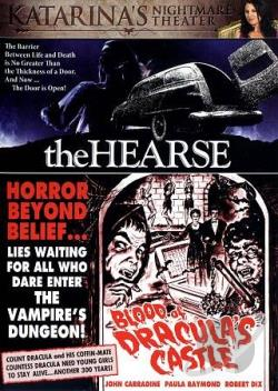 Hearse/Blood of Dracula's Castle DVD Cover Art