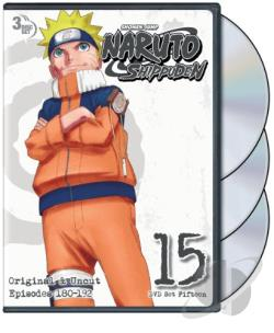 Naruto: Shippuden - Box Set 15 DVD Cover Art