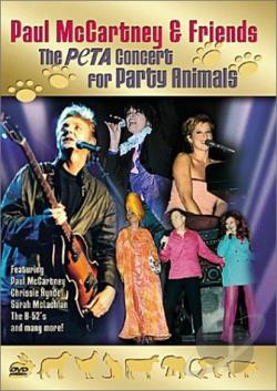 Paul Mccartney & Friends: The Peta Concert For Party Animals DVD Cover Art